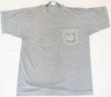 New listing Vintage 1990's The Disney Channel Mickey Mouse Single Stitch Pocket T-Shirt Lrg