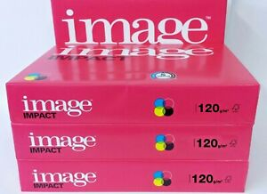 A5, A4 OR A3 '120gsm' IMAGE IMPACT SMOOTH WHITE PAPER. QUALITY PRINTING RESULTS.