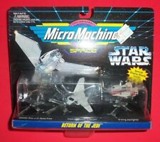 Star Wars Micromachines - Return Of The Jedi - Speeder, Imperial Shuttle, A-Wing