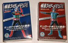 "BANDAI gashapon KAMEN RIDER 5"" FIGURE MODEL KIT SET OF 2 MINT IN BOX masked MIB"