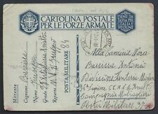 POSTA MILITARE 1941 Franchigia da PM 84 a PM 97 (MA)
