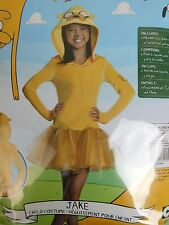 Rubies Adventure Time Jake Girls Halloween Hooded Tutu Dress Costume Medium 8-10