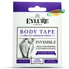 Eylure Invisible Fashion Clothing BODY Skin TAPE Adhesive Strips To Hold Clothes