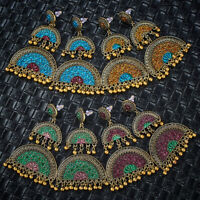 Women Indian Bollywood Earrings Fashion Jhumka Jhumki Wedding Jewelry Gifts