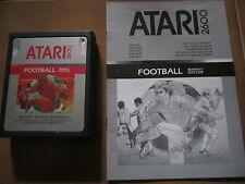 Gioco per Atari 2600 FOOTBALL Cartuccia + istruzioni