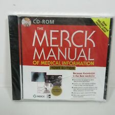 Merck Manual of Medical Information PC CD Rom Home Edition Windows Version NEW!