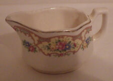 Antique Vintage Creamer Cup Flower Pattern Unknown Maker Crazed See Photo's 2.5""