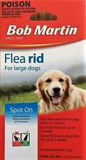 Bob Martin Flea Rid - Flea & Tick Treatment for Large Dogs 3 X 2ml Pippets