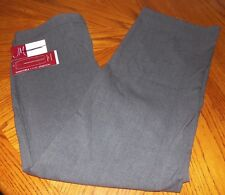 NEW LADIES PANTS SIZE 10 SHORT J M COLLECTION 2 WAY STRETCH,HIDDEN ELASTIC NWT