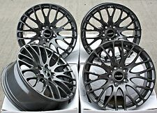 "18"" CRUIZE 170 GM ALLOY WHEELS GUNMETAL CROSS SPOKE 5X110 18 INCH ALLOYS"