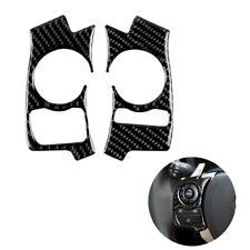 Carbon Fiber steering wheel button decoration For Lexus IS250 NX200 /200t /300h
