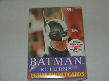 1992 Topps Batman Returns Movie Photo Cards-Full Box of 36 Unopened Packs