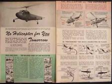 1944 AUTOGIRO vs HELICOPTER History vintage pictorial