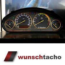 """Tachoscheibe für Tacho BMW E36 Benziner """"Vamp"""" 260Km/h top"""
