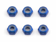 ASC31550 FT M3 Locknut, blue aluminum RC10-RC12-SC8-TC5-TC6 TEAM ASSOCIATED