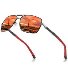 Aluminium Polarized Photochromic Sunglasses Pilot Men's Driving Outdoor Eyewear