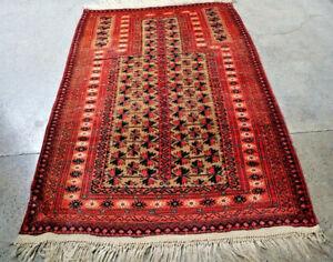 COLLECTORS' PIECE Antique Kwdani Tribal Nomadic Prayer Rug,High Quality Prayer R