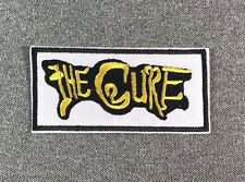 The Cure Patch 3.5in iron on patch Music Rock Band