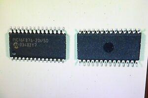 IC PIC 16F876-20 I/SO Microchip    1Stück