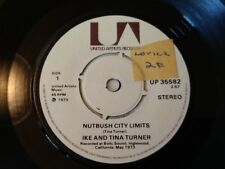 IKE AND TINA TURNER . NUTBUSH CITY LIMITS  .  Lovely excellent + copy . 1973