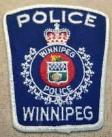 Ca Winnipeg Canada Police Patch