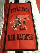 Vintage Texas Tech Felt Banner NCAA Big 12