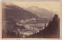 St. Moritz Suisse Foto A.Garcin - J.Jullien Succr. Geneve Vintage Albumina