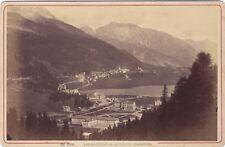Saint-Moritz Suisse Photo A. Garcin - J. Jullien Succr. Genève Vintage albumine