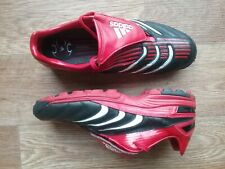 adidas traxion turf football boots size 9 black and red. Great condition