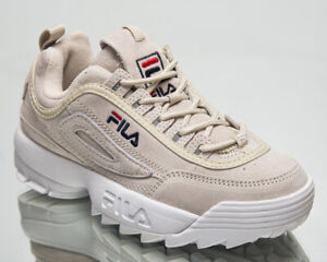 Fila Disruptor Low Women's Light Grey Casual Lifestyle Sneakers Daddy Ugly Shoes
