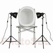 PhotoSEL PPC146 Studio Lighting Kit 110W 80cm Light Tent for Product Photography