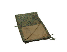 USMC Military MARPAT / Coyote Reversible Field Tarp, Woodland Digital, VGC!!