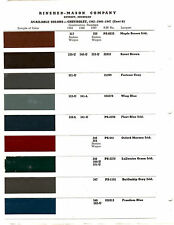 1942 1946 1947 CHEVROLET FLEETMASTER STYLEMASTER PAINT CHIPS RINSHED MASON 3