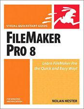 FileMaker Pro 8 for Windows & Macintosh by Hester, Nolan