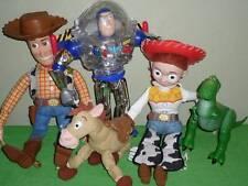 "Toy Story Pull String Talking 16"" Woody Jessie Buzz Lightyear 12"" Lot"