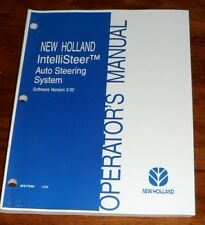 New Holland IntelliSteer Auto Steering System Version 3.02 Operators Manual