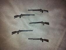 5 x dunkles Gewehr alte Version