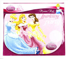 Disney Princess PC Computer Mouse Pad / Mat - Pink Sparkling Party DSY-MP013 NEW