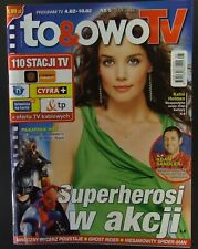 """KATIE HOLMES  mag.COVER Poland 2012 """"TO&OWO""""  Adam Sandler, Ghost Rider"""