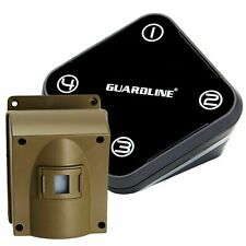 Guardline GL 2000 Wireless Driveway Alarm with Outdoor Motion Sensor