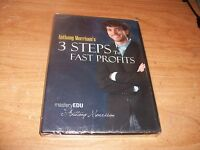 Anthony Morrison's 3 Steps To Fast Profits (DVD 2009) Affiliate Marketing NEW