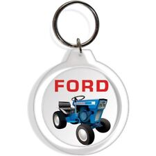 FORD 100 120 GARDEN FARM TRACTOR KEYCHAIN FOB RING KEYCHAIN PART COLLECTABLE ART
