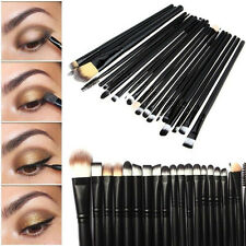 New 20PCS Make Up Tool Brush Kit Foundaton Eye Shadow Brow Lip Brushes Cosmetic