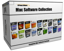 MAC OS X Multimedia Web 3D Graphics Animation Design Software Program Collection