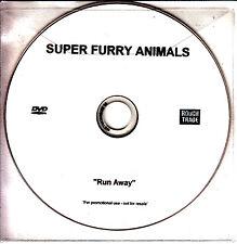 SUPER FURRY ANIMALS Run Away 2007 UK 1-track promo test DVD