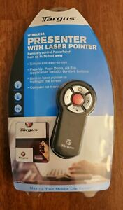 Targus Presenter With Laser Pointer Remote 30Ft Range New