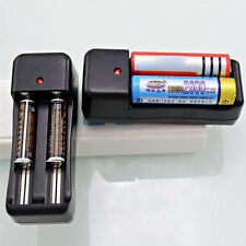 Universal Dual Battery Charger For 18650 16340 26650 Rechargeable 3.7V Li-ion OK