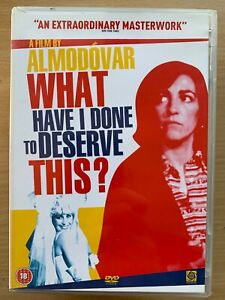What Have I Done To Deserve This? DVD 1984 Almodovar Cult Spanish Classic