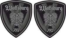 VW T5 Wolfsburg Transporter Camper caravelle 80mm Wing Decals Stickers styling