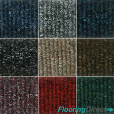 Quality Bedford Rib Carpet Tiles 4m2 Box - Commercial Office Heavy Duty Flooring